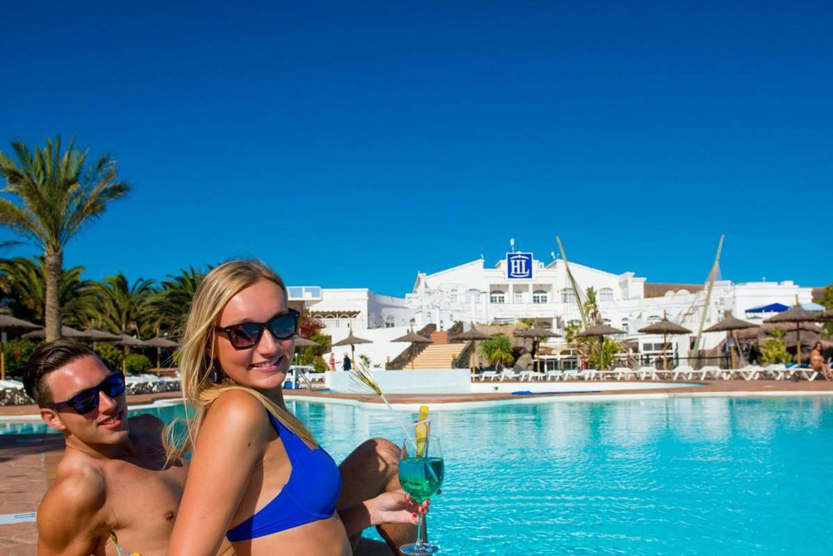 Pools Hl Paradise Island Hotel Lanzarote